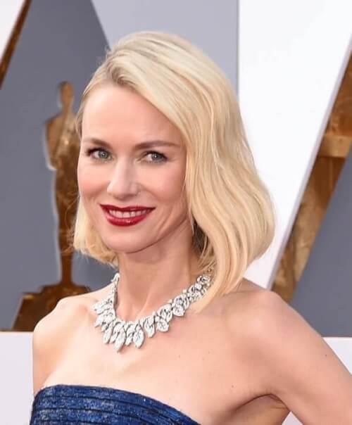 Naomi Watts Oscars Hairstyle 2016