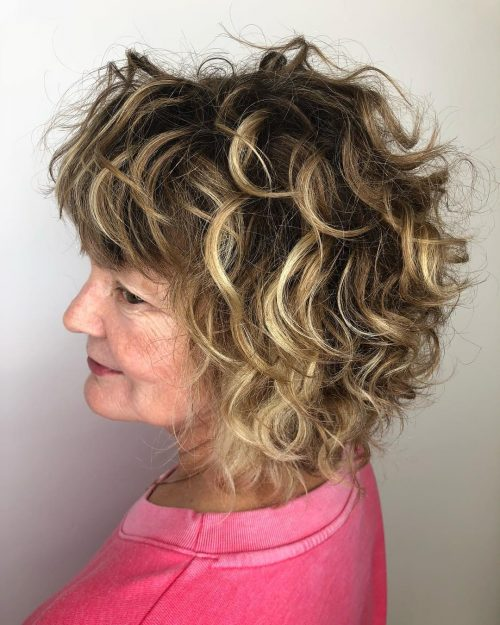 Natural Bob for Curly Hair