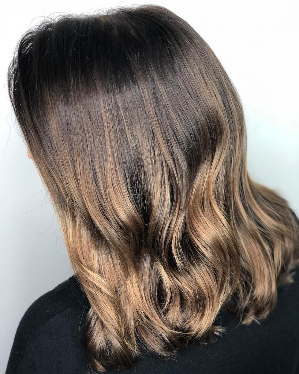 Natural Effect hairstyle