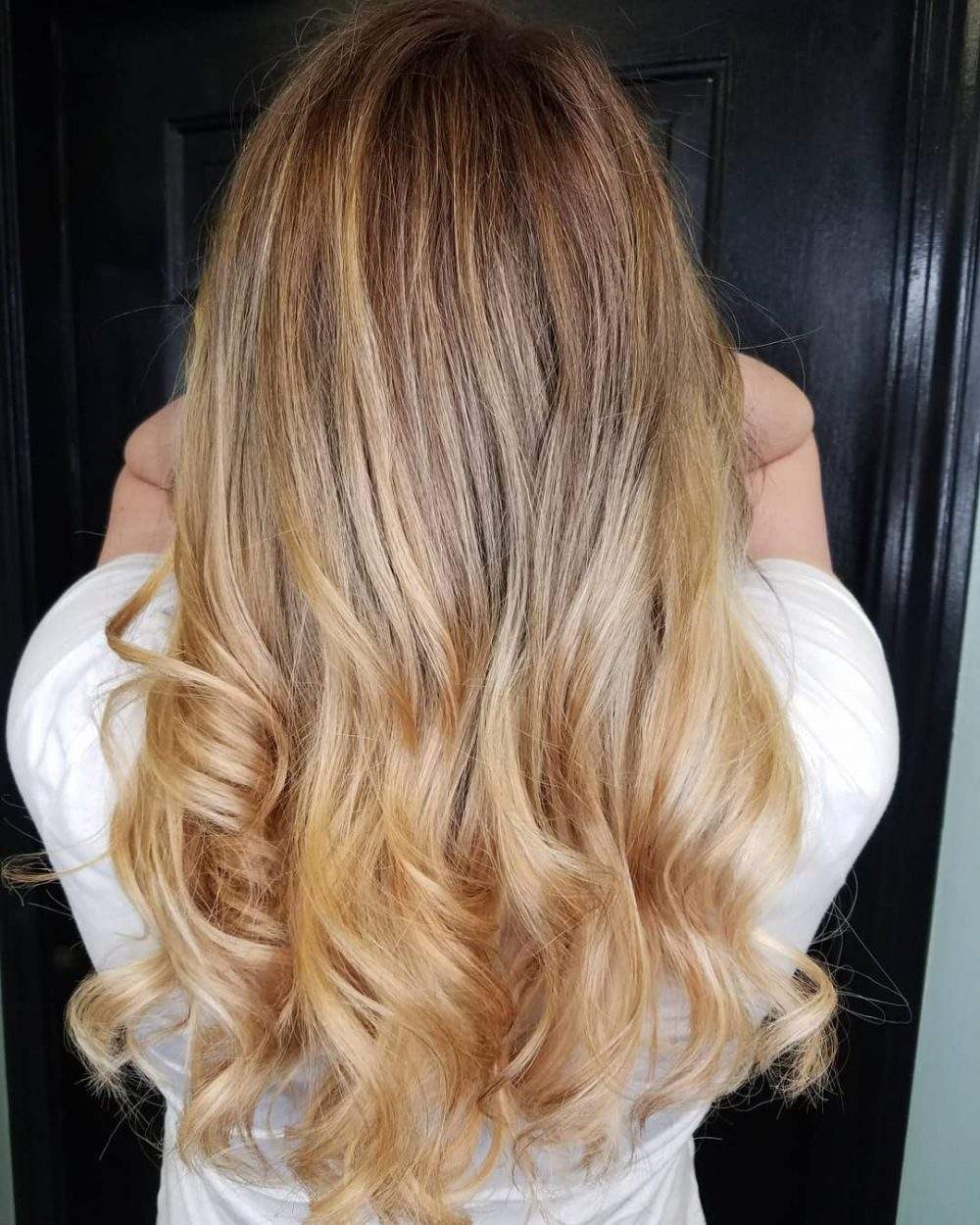 Natural Honey Blonde Balayage
