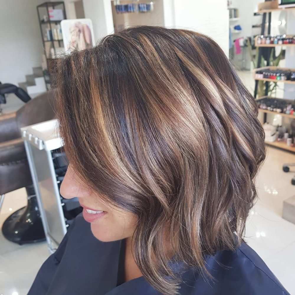 Natural Light Brown hairstyle