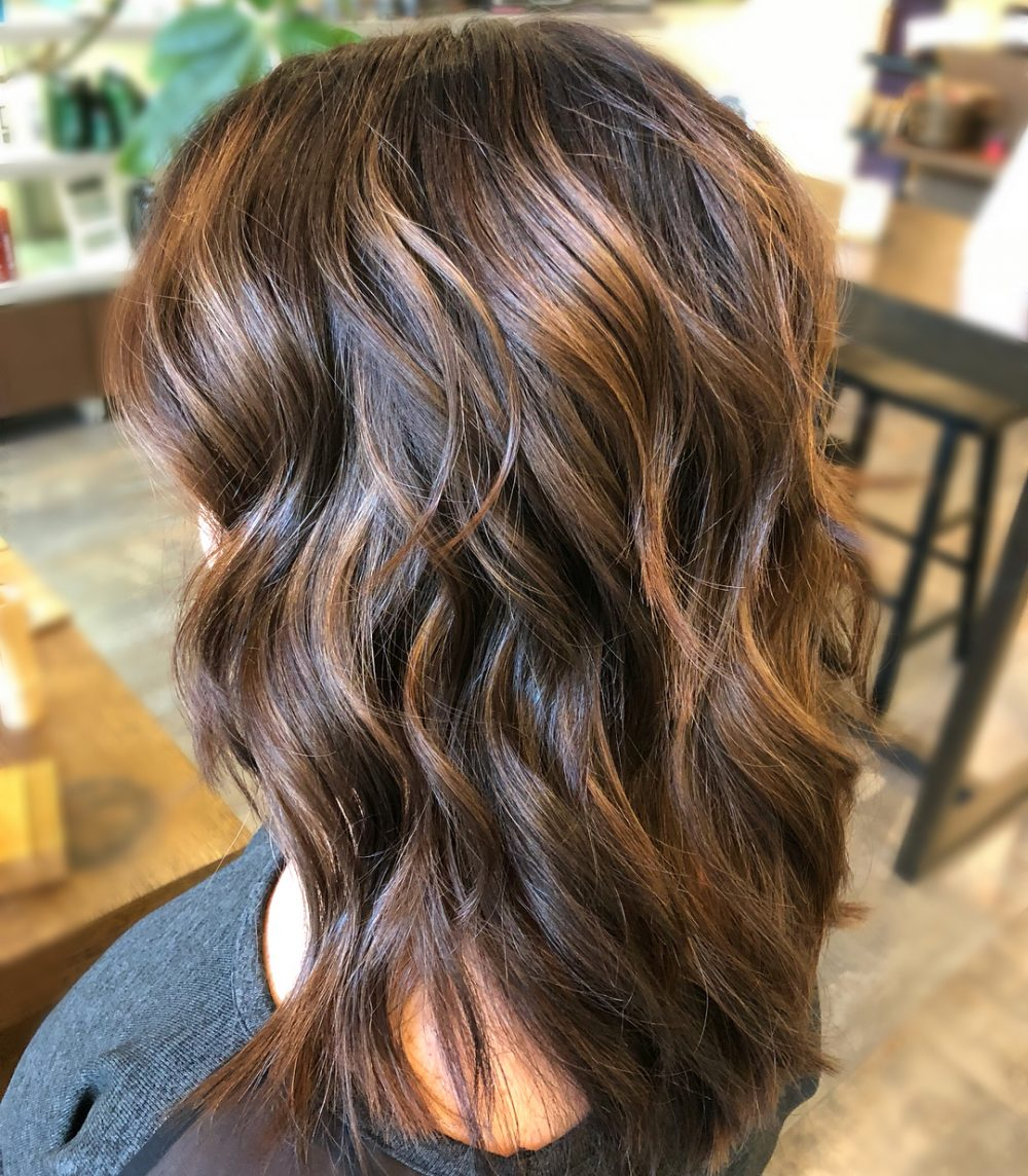 Natural Sunkissed Halo Hairstyle