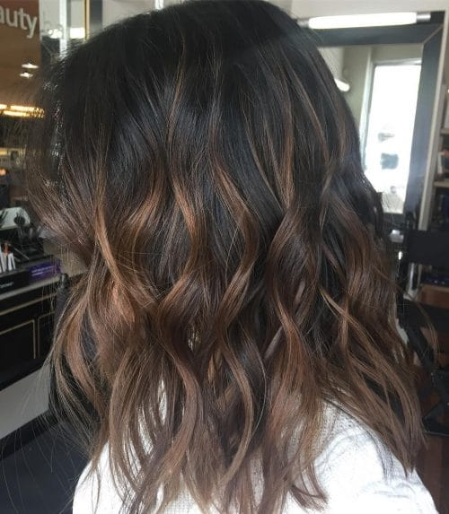 35 chocolate brown hair color ideas youll really love natural caramel highlights hairstyle pmusecretfo Choice Image
