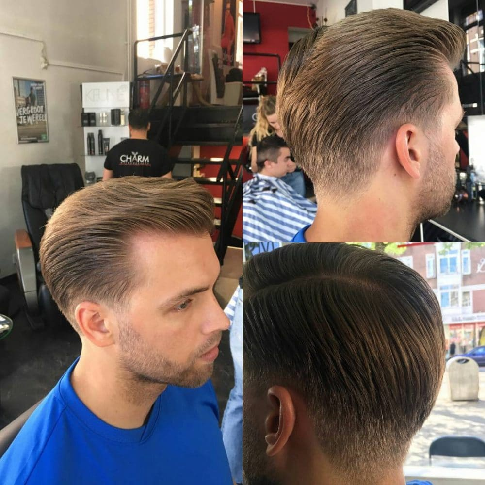 Natural Taper Cut hairstyle