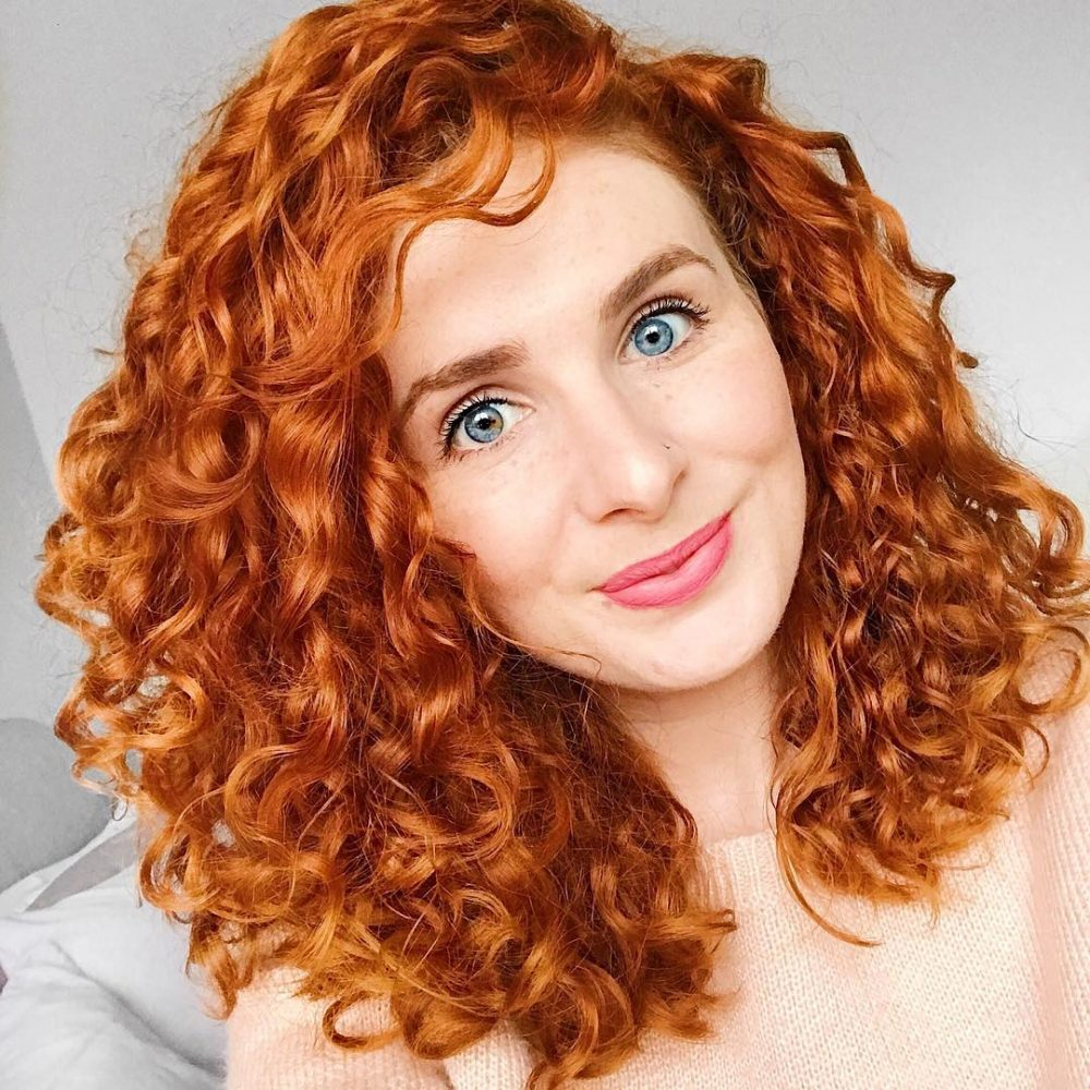 28 Gorgeous Medium Length Curly Hairstyles For Women In 2018