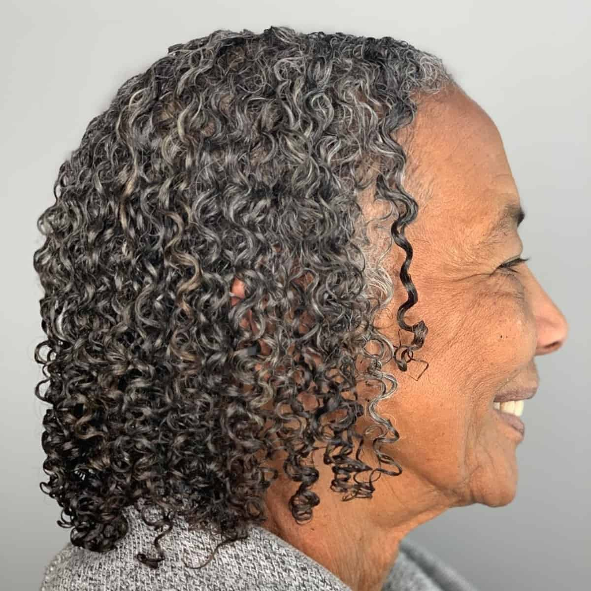 Bob de longitud natural del cuello para mujeres negras