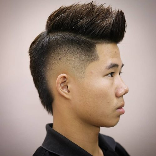Brilliant 17 Best Fohawk Faux Hawk Haircuts For Men In 2020 Schematic Wiring Diagrams Amerangerunnerswayorg