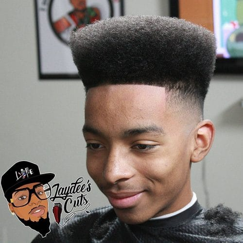 Old Fashioned Flat Top hairstyle