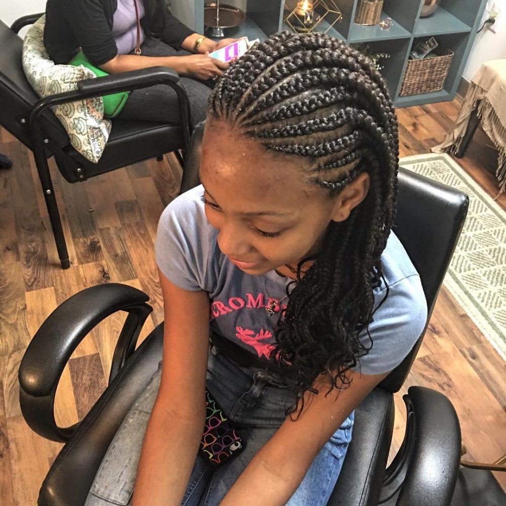 On-The-Go Braids hairstyle