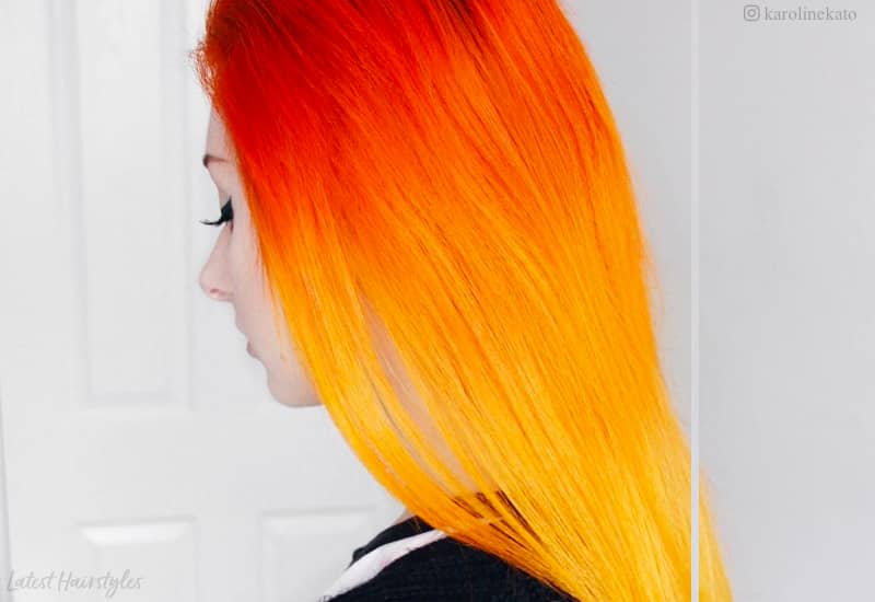 20 Stunning Orange Hair Color Shades You Have To See