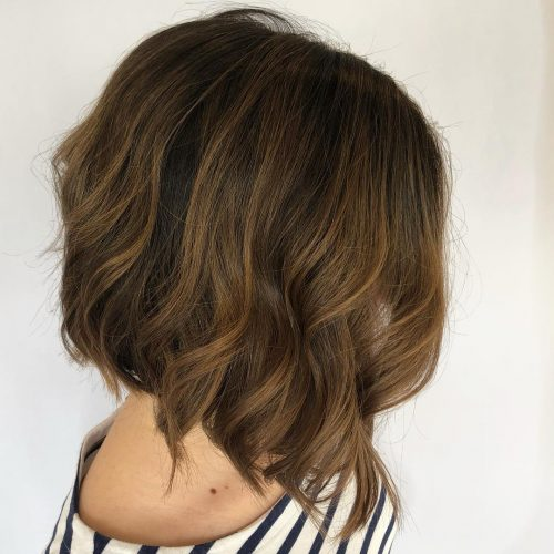 Outstanding dark blonde highlights
