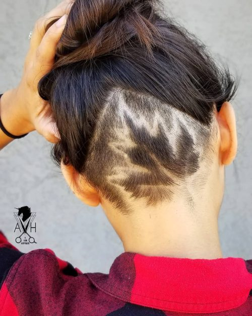 19 Edgy Undercut Designs And Hairstyles For Women In 2020