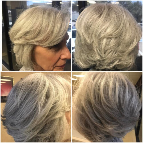 Blonde Hair Color Lokks Good Over 50
