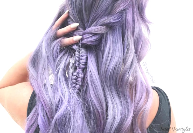 top 13 pastel purple hair color ideas youll see in 2019