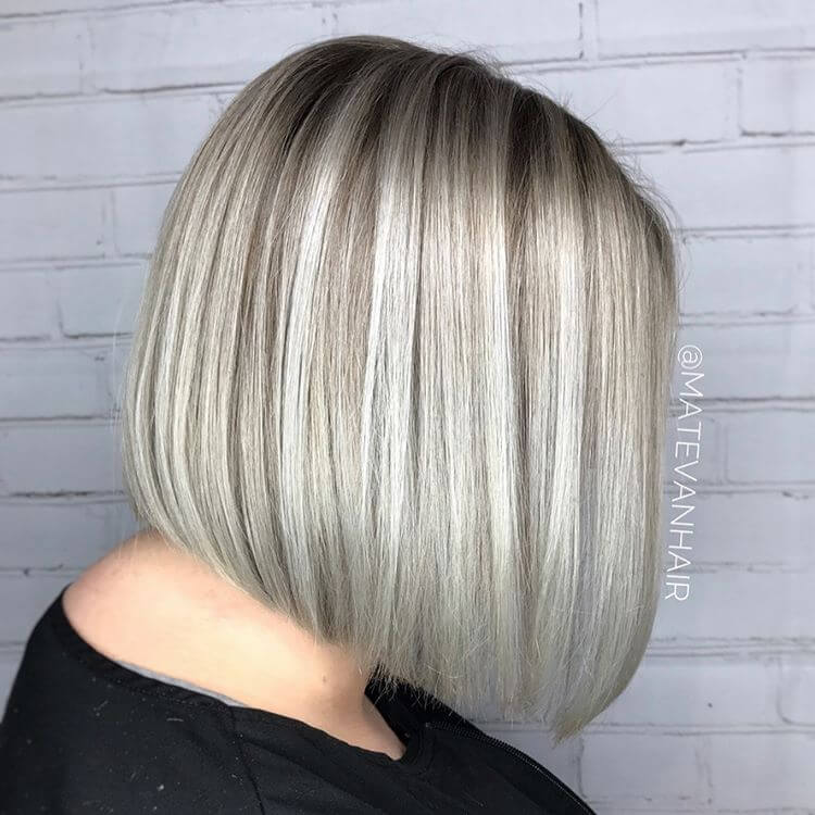37 Incredible Silver Hair Color Ideas in 2018