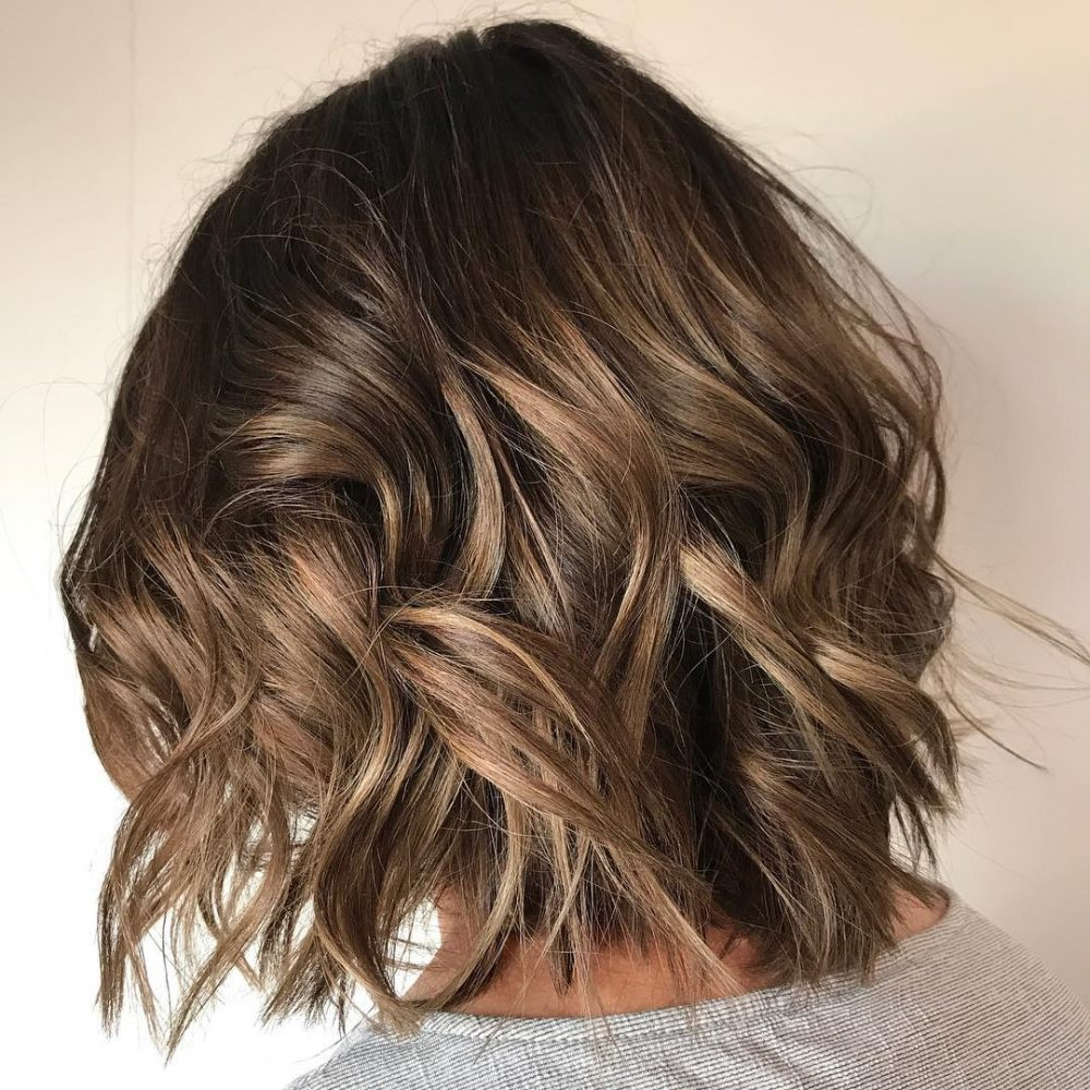 Perfect Brunette Summer Sombre hairstyle