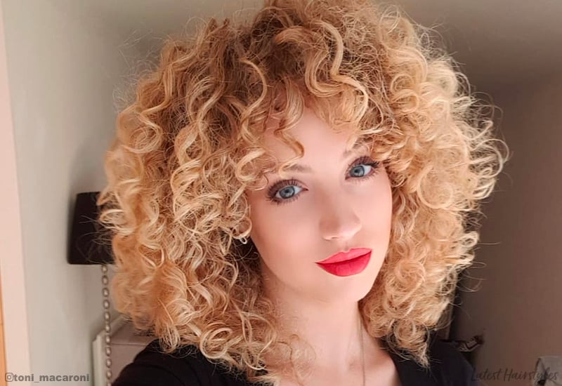15 Gorgeous Examples Of Blonde Curly Hair For 2019