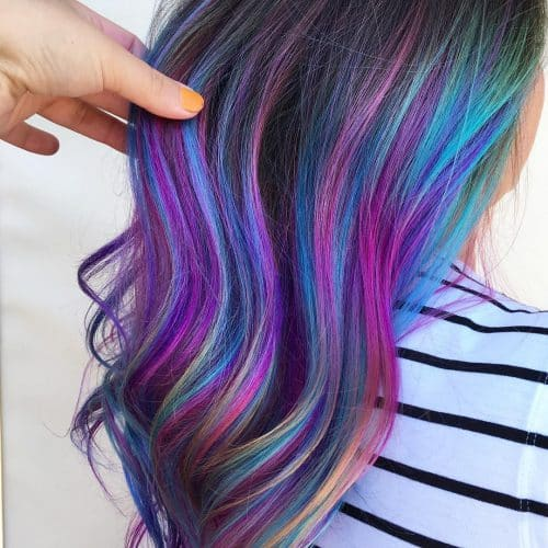 23 Incredible Examples Of Blue Purple Hair In 2020