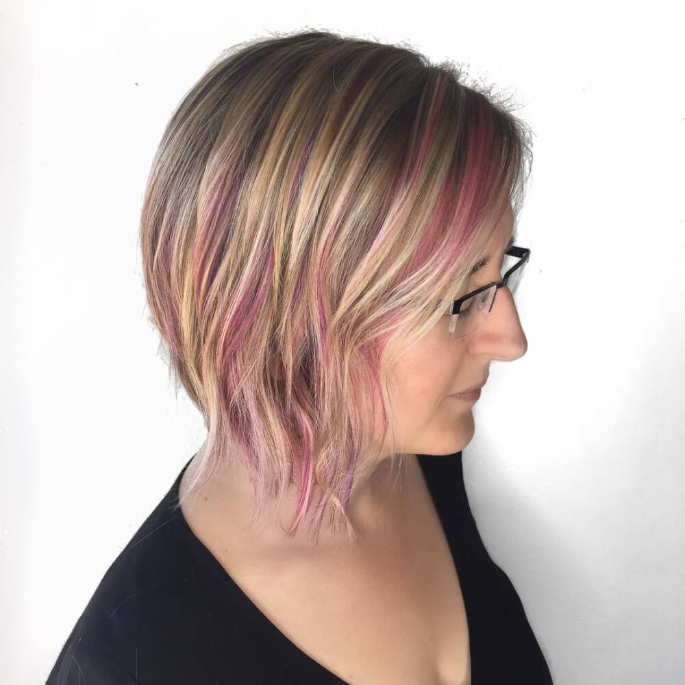 easy to style haircuts for fine hair these are the 28 best haircuts for thin hair in 2019 1271 | pink hair