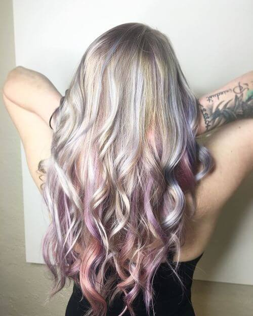 Top 25 ombre hair color ideas trending for 2017 pink purple ombre hair urmus