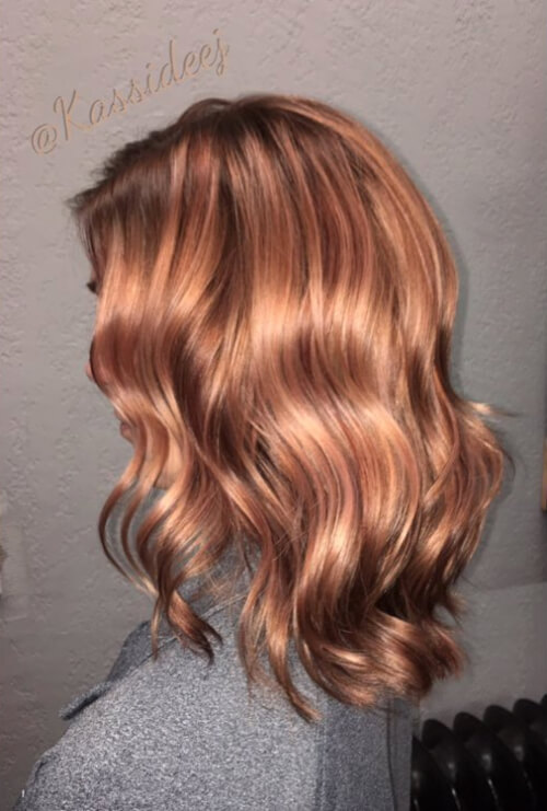 71 Alluring Rose Gold Hair Color Ideas To Try In 2018