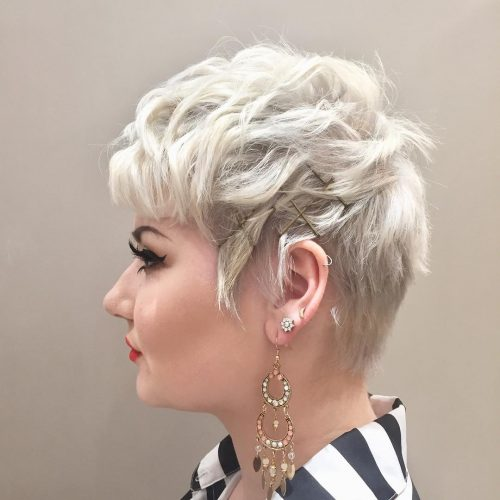 Picture of a pixie beauty hairstyle