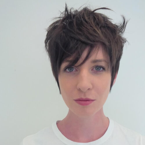 pixie cut with movement