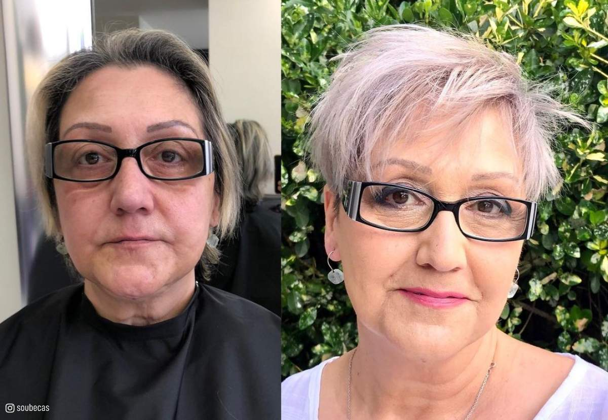 4 Most Flattering Pixie Cuts for Older Ladies with Glasses