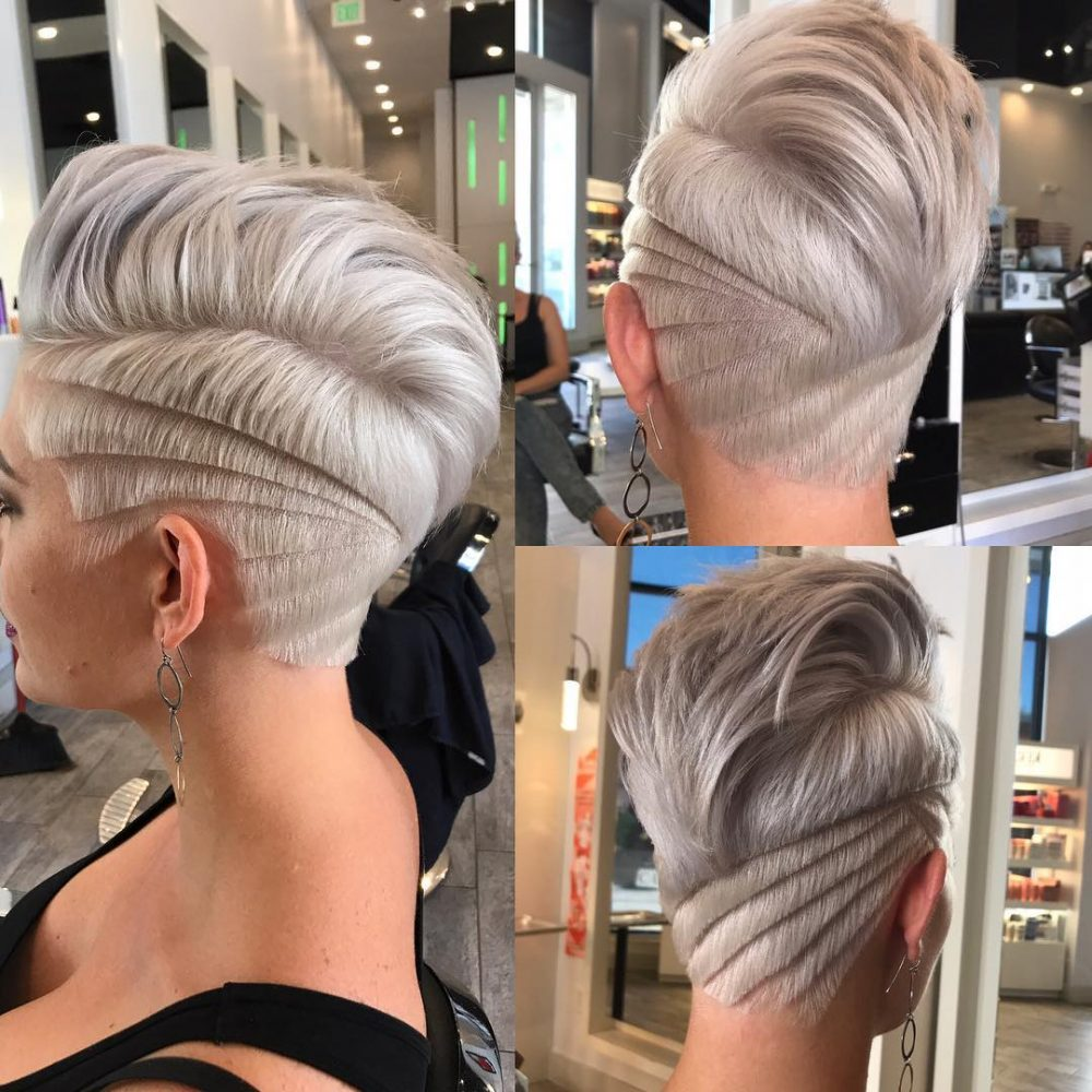 Pixie Undercut hairstyle
