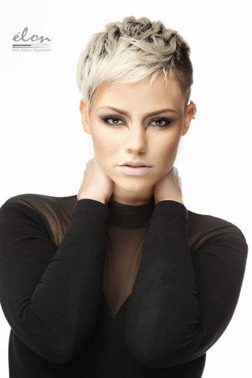 pixie-with-platinum-blonde-highlights