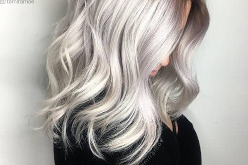 Silver and platinum blonde hair color valuable information