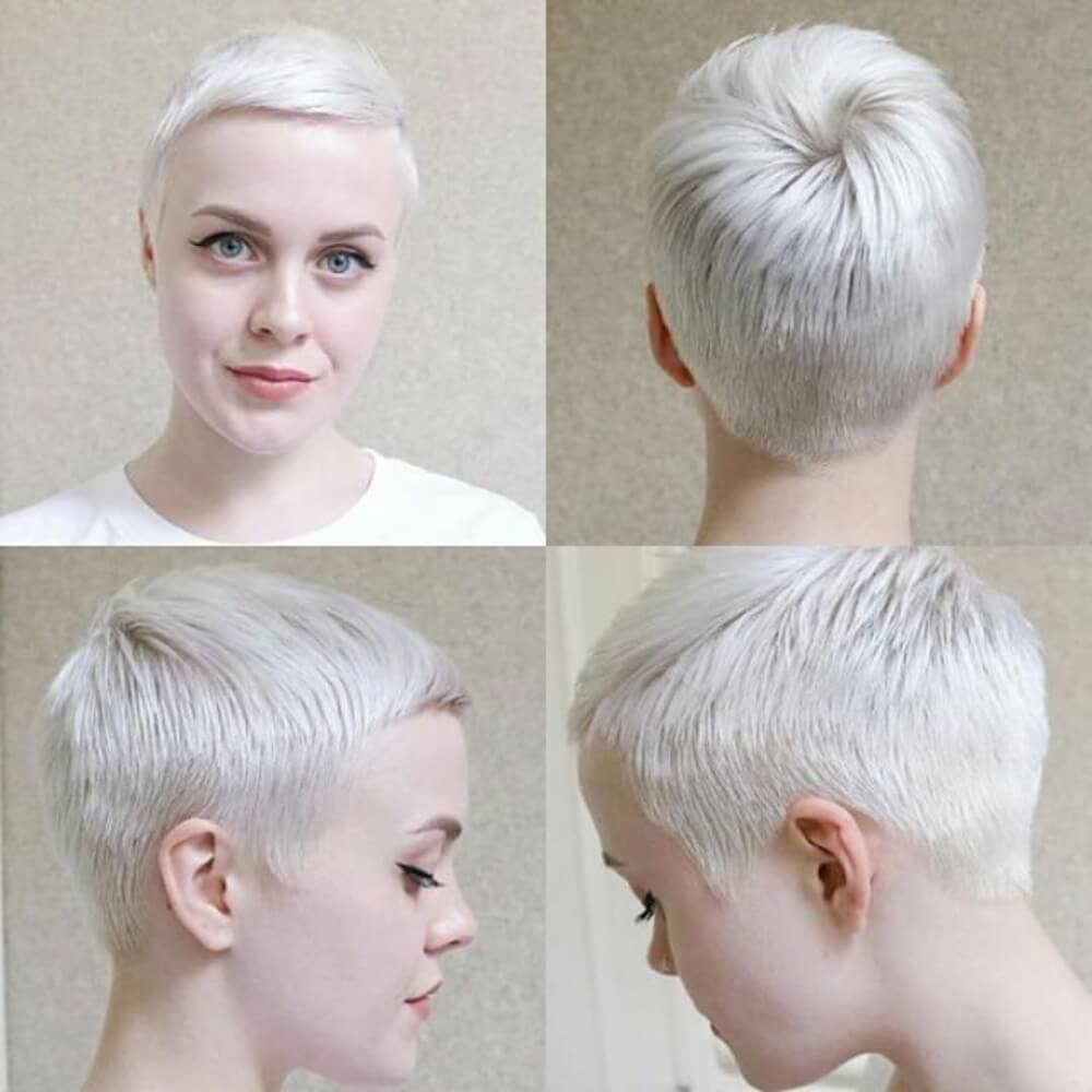 Polished Pixie hairstyle