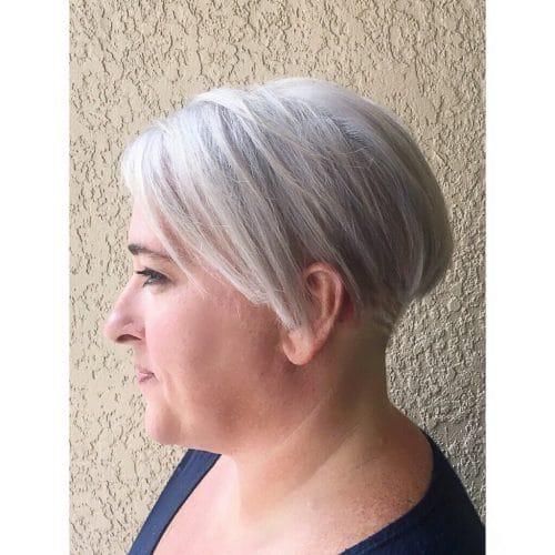 Platinum Undercut hairstyle
