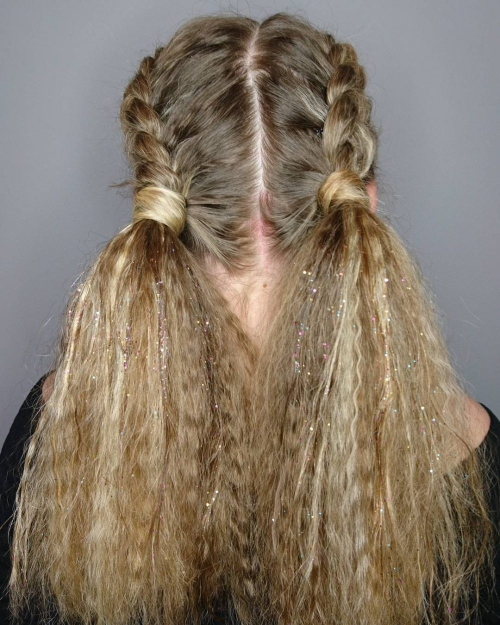 Playful Pigtails hairstyle