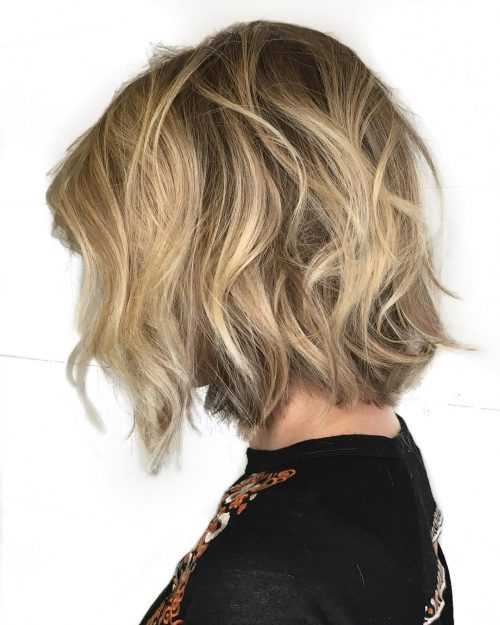 Playful Choppy Bob hairstyle