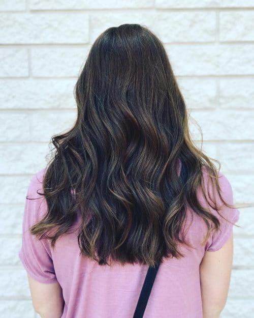 Point Cut Layers hairstyle