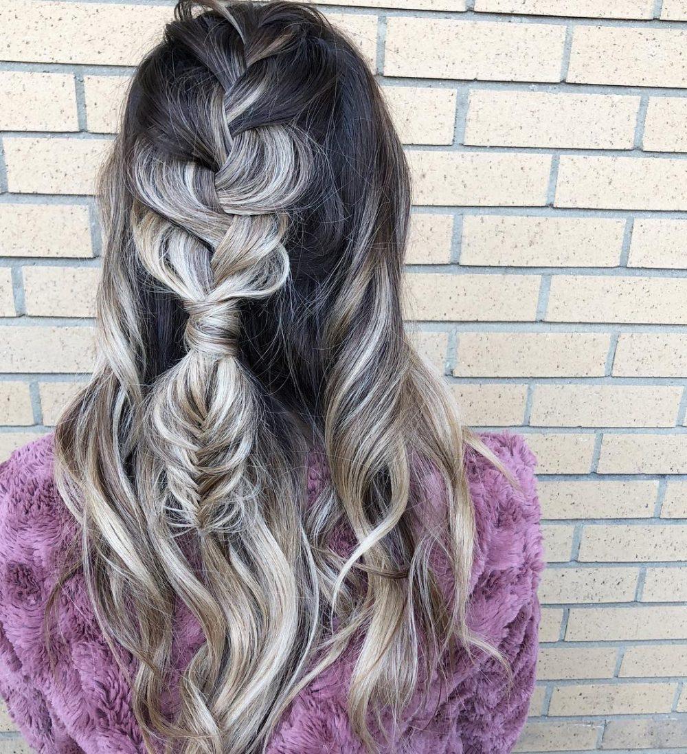 Polished Boho Style hairstyle