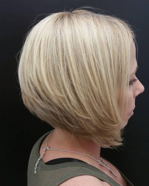 Precision Cut A-Line hairstyle