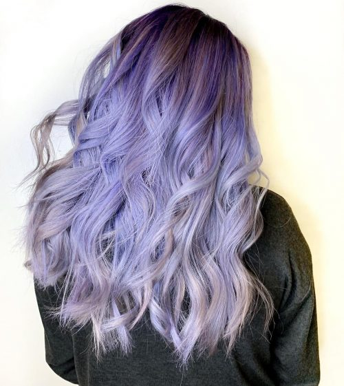 Pretty Periwinkle Purple Hair