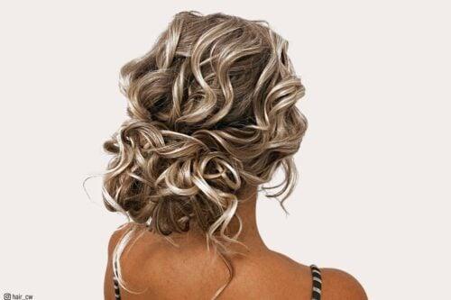 Prom hairstyles for medium-length hair