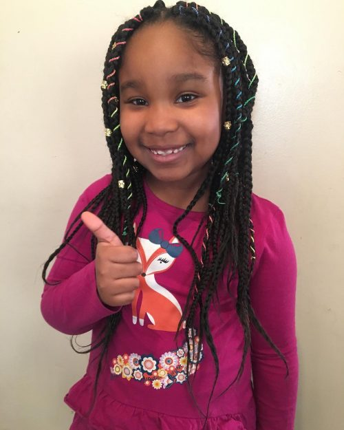 20 Cute Hairstyles For Black Kids Trending In 2020