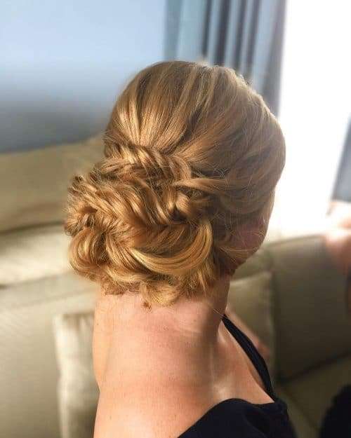 Pulled Apart Fishbone Braid hairstyle