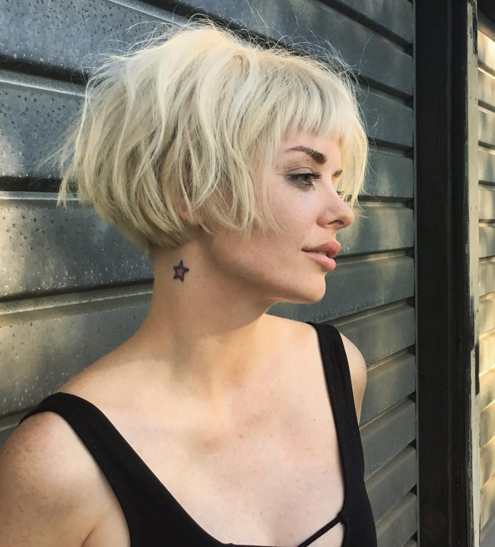 Top 45 Short Blonde Hair Ideas for a Chic Look in 2018