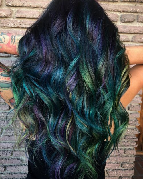 17 Amazing Examples Of Green Hair 2020 Trends