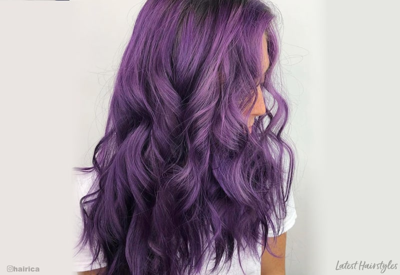 22 Stunning Purple Ombre Hair Color Ideas For 2020