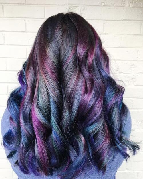 28 Colorful Rainbow Hair Ideas Trending In 2018