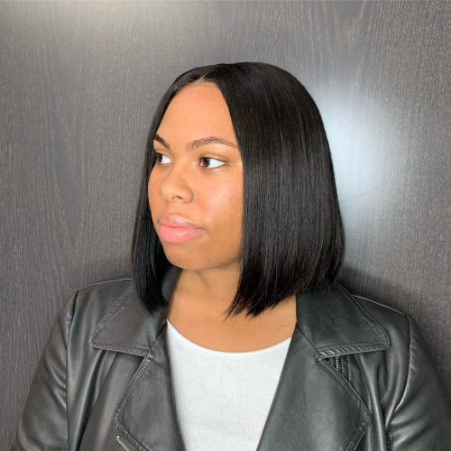 Stupendous 15 Perfect Middle Part Bob Hairstyles Weaves Sew Ins Etc Natural Hairstyles Runnerswayorg