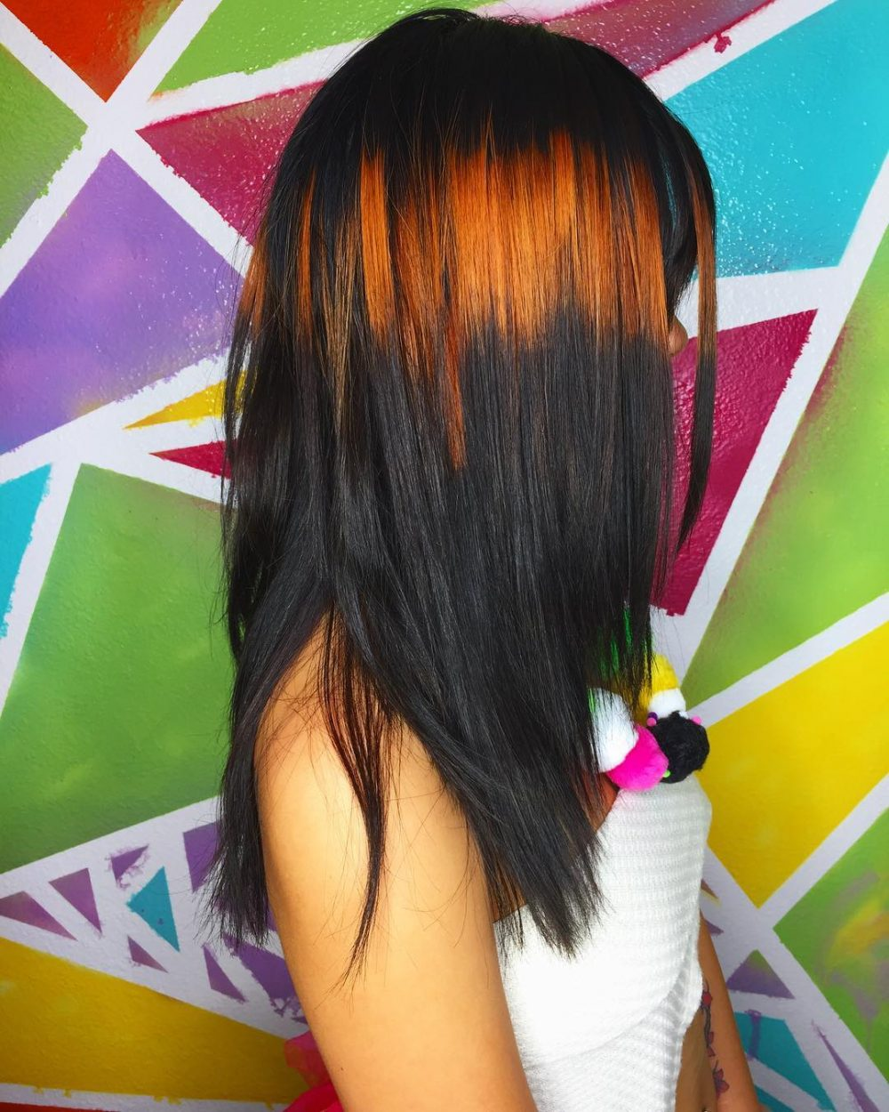 Ray of Color hairstyle