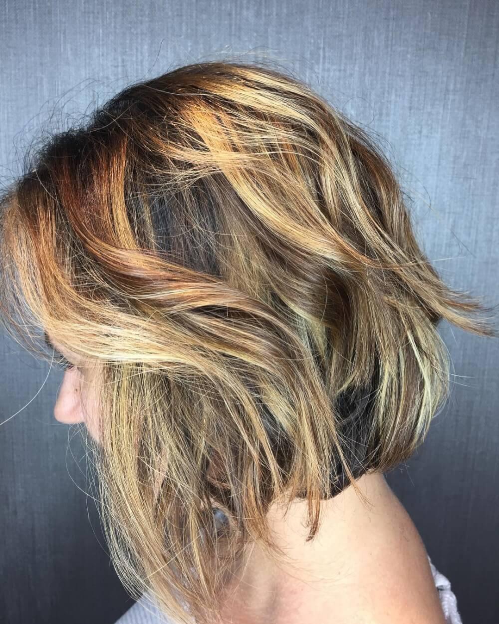 Razor Cut Bob hairstyle