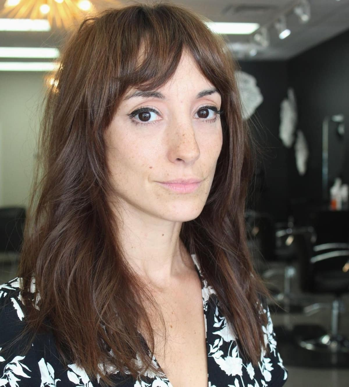 Razor Cut for Medium Length Hair
